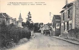 78-SAINT-REMY-LES-CHEVREUSES- POSTE, TELEGRAPHES, TELEPHONES RUE DE LIMOURS - St.-Rémy-lès-Chevreuse