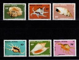 Wallis & Futuna - YV 312 à 317 N** Complete Coquillages - Wallis Und Futuna