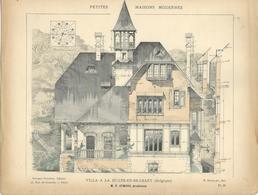 PETITES MAISONS MODERNES - Villa à LA HULPE (Belgique) - Architecture  - Rivoalen - Architecte F. Symons - Architecture