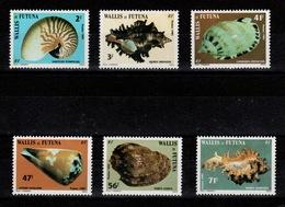 Wallis & Futuna - YV 323 à 328 N** Complete Coquillages - Wallis Und Futuna