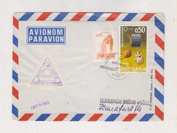 YUGOSLAVIA,1967 ZAGREB First Flight ZAGREB-MUENCHEN.FRANKFURT Nice Cover - 1945-1992 Sozialistische Föderative Republik Jugoslawien
