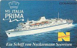 Netherland - Chip - TK 049 , HRC , Dampfer MS Italia - Prima Neckermann Reisen - Niederlande