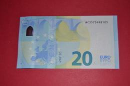 M005C4 PORTUGAL - M005 C4 * 20 EURO  - MC3573498105 - NEUF - UNC - EURO