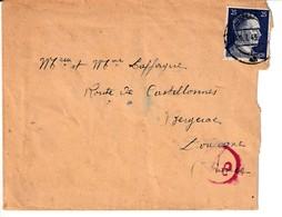 3. Reich, Zwangsarbeiterpost , Ludwigshafen, I.G.Farben, Heute BASF, Stempel Kamaradschaftsheim - Allemagne