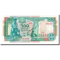 Billet, Somalie, 500 Shilin = 500 Shillings, 1989, KM:36a, NEUF - Somalia