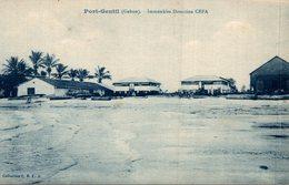 PORT GENTIL  IMMEUBLES DIRECTION CEFA - Gabon