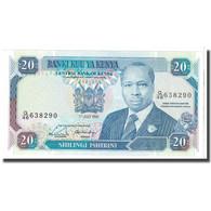 Billet, Kenya, 20 Shillings, 1990, 1990-07-01, KM:25c, NEUF - Kenia
