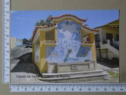 PORTUGAL - CASAIS DA SERRA -  CALDAS DA RAINHA -   2 SCANS     - (Nº35684) - Leiria