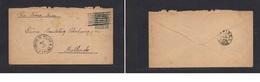 Bolivia  -cover - 1895 La Paz To Mollendo,Peru, Via Tacna-Arica 5c Stat Env,fine. Easy Deal. - Bolivia