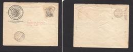 Mexico - Cover - C.1922 Mexican Army Oficial Fkd Env To DF Coahuila, Vf. Easy Deal. - Mexique