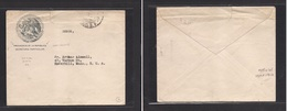 Mexico - Cover - 1912 Presidente Republica Free Mail To USA Haverhill Better. Easy Deal. - Mexique