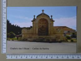 PORTUGAL - CHAFARIZ DAS 5 BICAS -  CALDAS DA RAINHA -   2 SCANS     - (Nº35689) - Leiria
