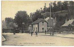 08 Ardennes SEDAN BALAN Le Tramway à La Gare Des Remparts 1914 TBE - Sedan