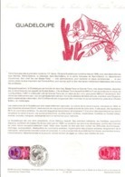 DOCUMENT FDC 1984 REGION GUADELOUPE - Documentos Del Correo