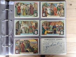 (6) Belgie, Frans S1090, Reeks Van 6, Dante Alighieri I. - Liebig