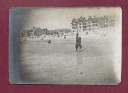 210520A - PHOTO ANCIENNE - 62 WIMEREUX La Plage à Marée Basse - Villa - Francia