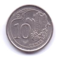 SINGAPORE 2014: 10 Cents, KM 346 - Singapore