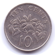SINGAPORE 2003: 10 Cents, KM 100 - Singapore