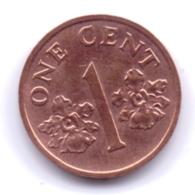 SINGAPORE 2001: 1 Cent, KM 98 - Singapore
