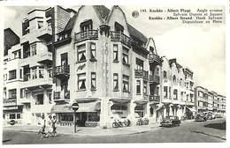 Knokke - Angle Avenue Sylvain Dupuis & Square (animation, Oldtimer, Bazar Verbeeke) - Knokke