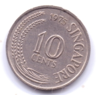 SINGAPORE 1975: 10 Cents, KM 3 - Singapore