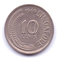 SINGAPORE 1969: 10 Cents, KM 3 - Singapore