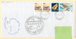 Polaire. Dutch Participation + German Antarctic Expedition. Ganovex VI 1990/91. Timbres Et Oblitération New Zealand. - Research Programs