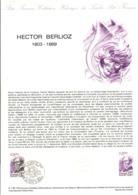 DOCUMENT FDC 1983 HECTOR BERLIOZ - Documenten Van De Post
