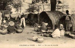 COLONIE DU NIGER SAY UN COIN DU MARCHE - Niger