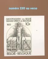 Grand Orient De Belgique 1833.    Tirage De 1000 Ex En NON D ENTELE - Freemasonry