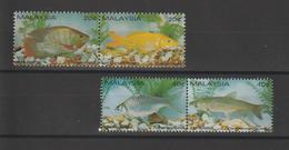 Malaisie 1983 Poissons 269-72 4 Val ** MNH - Malaysia (1964-...)