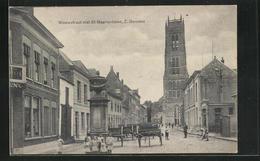 AK Zaltbommel, Nieuwstraat Met St Maartentoren - Zaltbommel