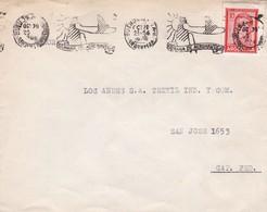 """SEMANA DE AERONAUTICA"" ARGENTINE ENVELOPPE CIRCULEE DE BUENOS AIRES A CAPITAL FEDERAL, ANNEE 1948 AVION AIRPLANE -LILHU - Argentina"