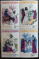 141.SAMOA 1976 SET/4 STAMP CHRISTMAS  .  MNH - Samoa