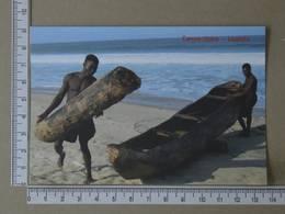 ANGOLA - CANOA TIPICA -  LUANDA -   2 SCANS     - (Nº35749) - Angola
