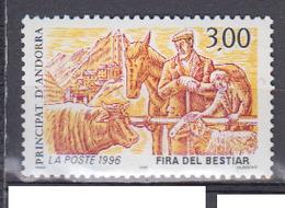 ANDORRE      1996    N °    481    COTE        2 € 00         ( Q 523 ) - Neufs