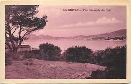 - Dpts Div-ref-AT211- Bouches Du Rhône - La Ciotat - Vue Generale Du Golf - Carte Bon Etat - - La Ciotat