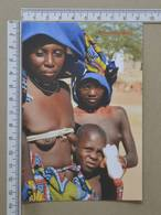 ANGOLA - TRIBO MUCUBAIS -  AFRICA CENTRAL -   2 SCANS     - (Nº35757) - Angola