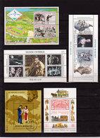 17 Blokken Sans Charniere No Stickers - Briefmarken