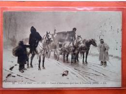 CPA. Salon De 1908 - Convoi D'Ambulance égaré Par Le Brouillard 1870 Par Sicard.  (D1.325) - Pittura & Quadri
