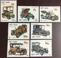 Vietnam 1984 Motor Cars MNH - Vietnam