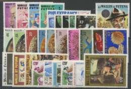 Wallis Et Futuna (1982) N 281 A 301 Et PA 114 A 121 (C75,40 E20) - Wallis Und Futuna
