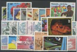 Wallis Et Futuna (1986) N 335 A 352 Et PA 149 A 154 - Wallis Und Futuna