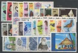 Wallis Et Futuna (1987) N 353 A 374 Et PA 155 A 159 - Wallis Und Futuna
