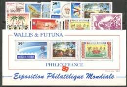 Wallis Et Futuna (1989) N 385 A 398 + PA 165 A 167 + BF 4 - Wallis Und Futuna