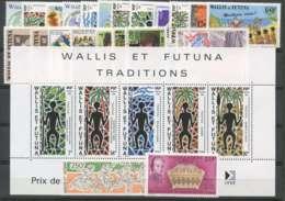 Wallis Et Futuna (1991) N 405 A 423 Et PA 170 A 172 + BF 5 - Wallis Und Futuna