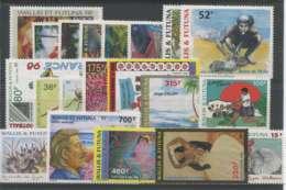 Wallis Et Futuna (1998) N 512 A 528 Et PA 203 A 207 - Wallis Und Futuna