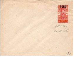Togo : Entier Postal Neuf - RABAT Collé - Covers & Documents