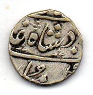 BRITISH INDIA - BOMBAY PRESIDENCY, 1/2 Rupee, Silver, Year 2, AH 1169, KM #175 - Inde