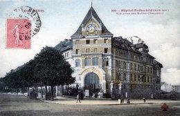 75  PARIS 19eAR   SERIE TOUT PARIS  HOPITAL ROTHSCHILD - Arrondissement: 19
